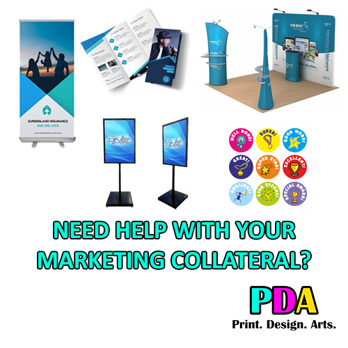 need help with your marketing collateral